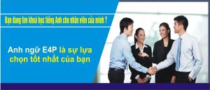 Đào tạo tiếng Anh tại doanh nghiệp