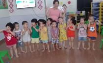 Hợp tác đào tạo tiếng Anh cho bé tại Trường Mầm non Hoa Ban Mai